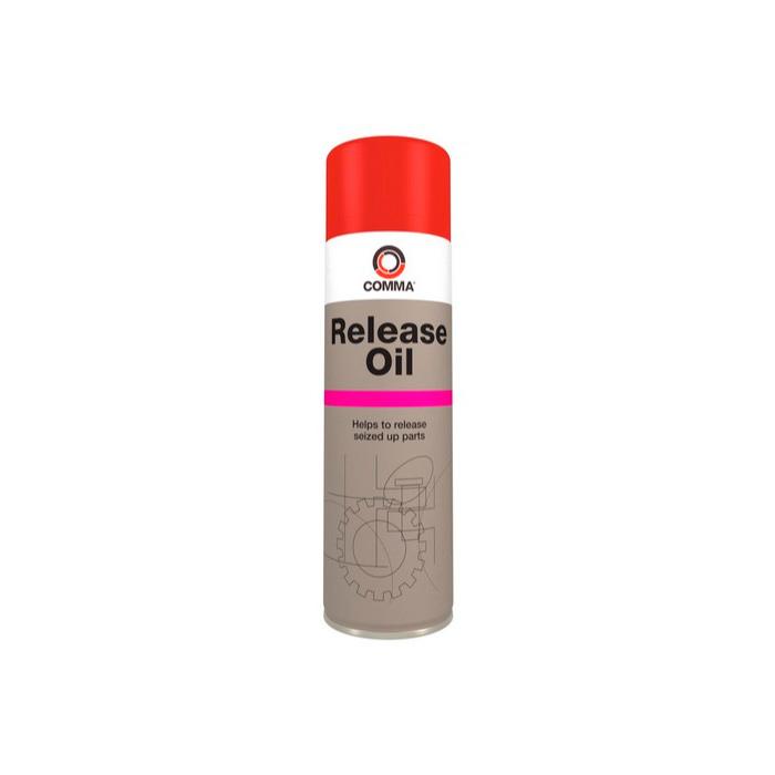 Смазка спрей Comma RELEASE OIL проникающая RO500,