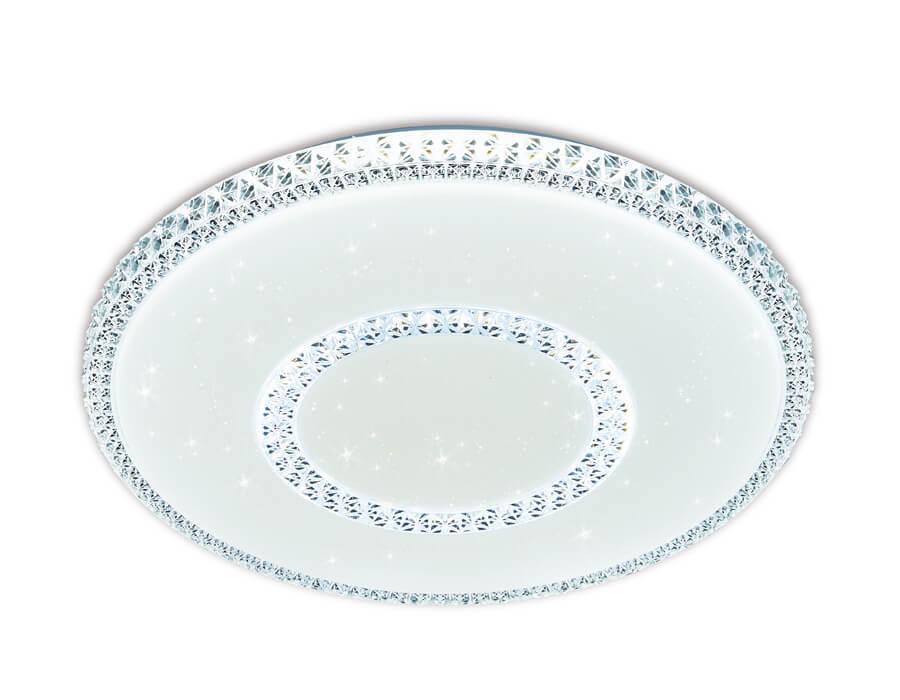 Потолочный светодиодный светильник Ambrella light Orbital Crystal