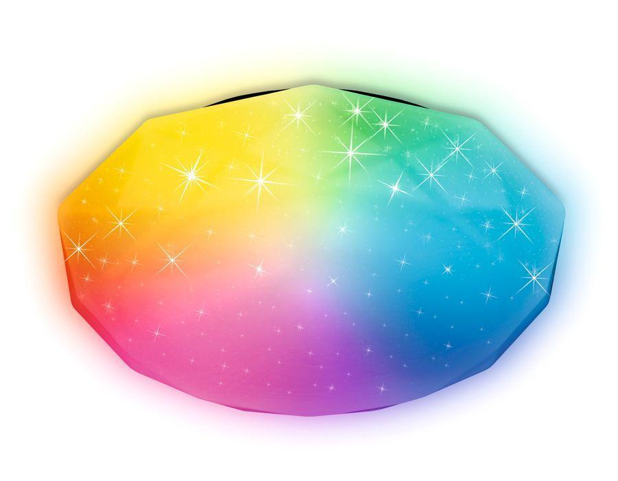 Потолочный светодиодный светильник Ambrella light Orbital Dance