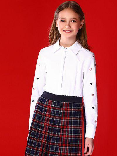 Купить 29503-428, Блуза для девочек Noble People цв. белый р.146,