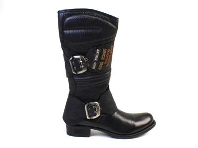 Сапоги мужские Newrock 35625 черные 38 RU