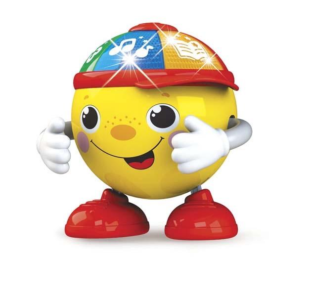 Купить Азбукварик Музыкальная игрушка – Колобок Танцующий, свет и звук,