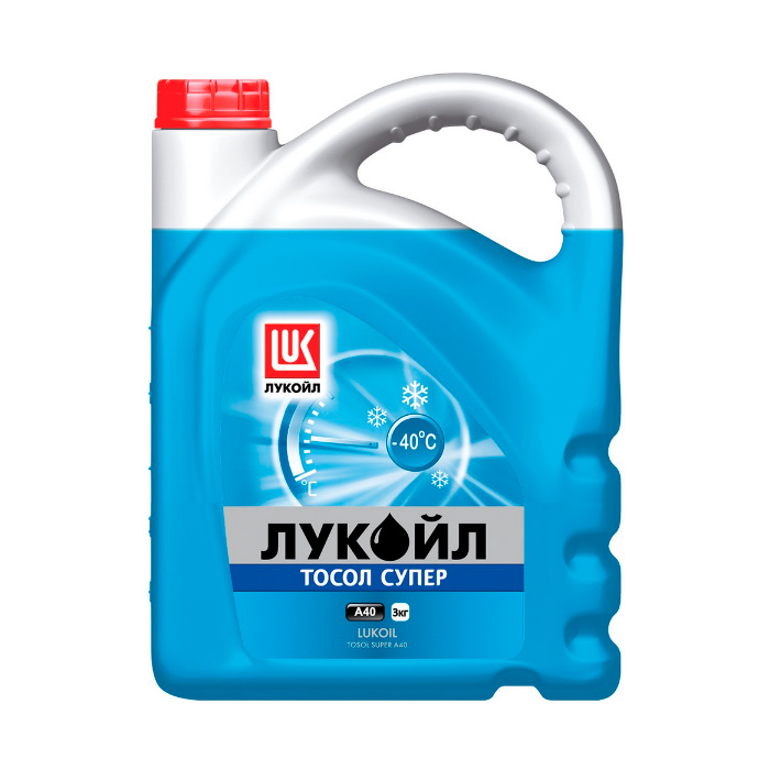 Тосол LUKOIL СУПЕР А40 227118, 3 кг