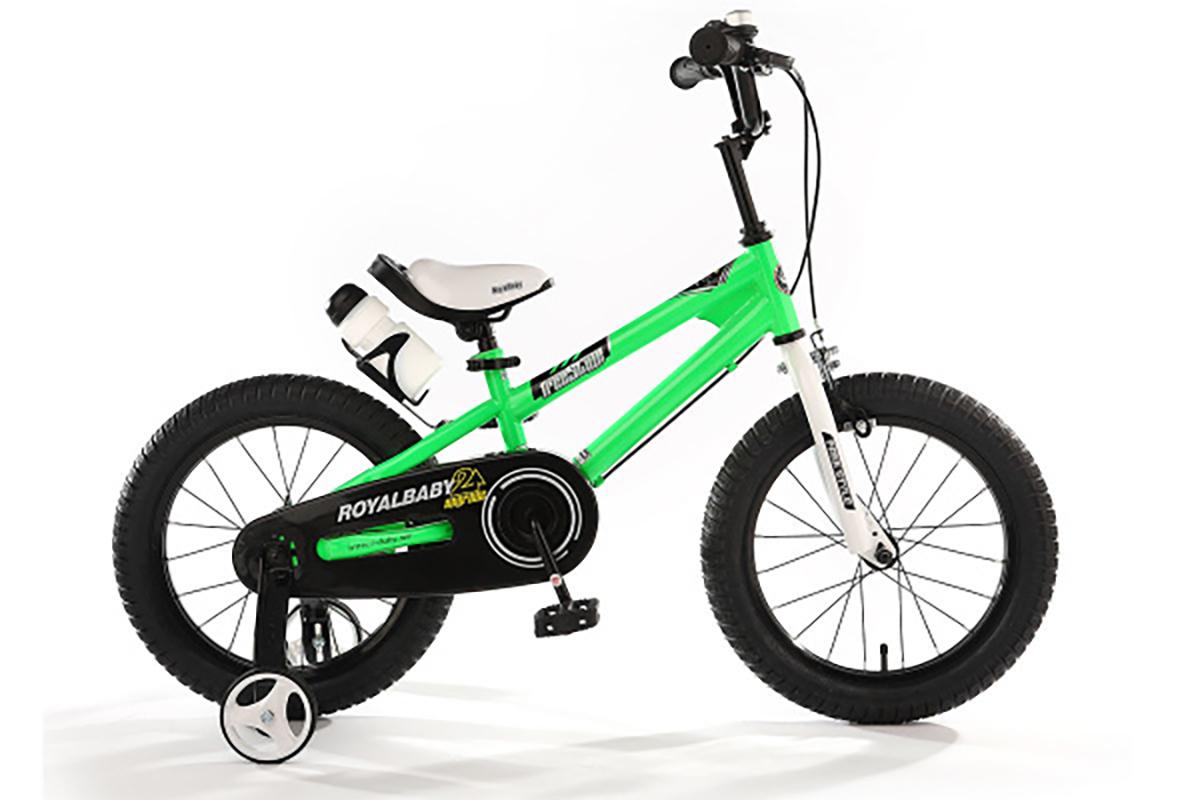 Купить Велосипед Royal Baby Freestyle Steel 14 (2020) зеленый one size, Велосипед Royal Baby Freestyle Steel 14 2020 зеленый,