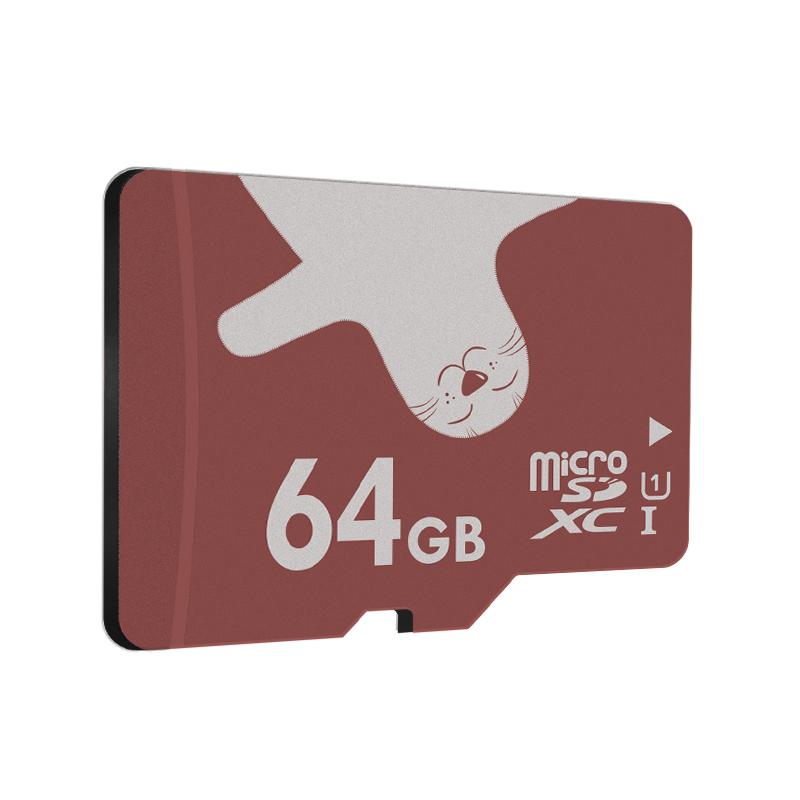 Карта памяти ALERTSEAL 64GB microSDXC + адаптер