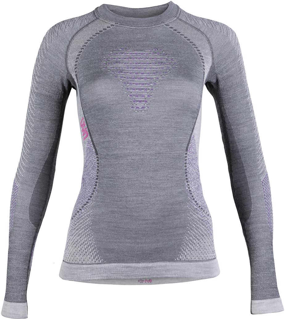 Термобелье UYN Fusyon Lady UW Shirt LG_SL (20/21) (Серый)