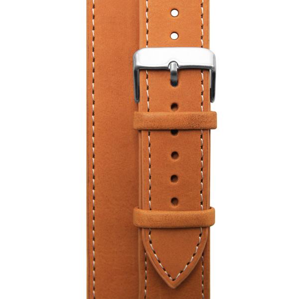 Ремешок Cozistyle Double tour leather watch band - Tan