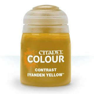 Купить Контрастная краска Games Workshop Iyanden Yellow 29-10,