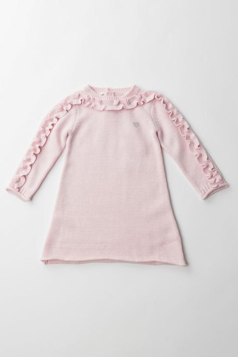 Купить 3.V710.00, Платье для девочки Sarabanda, цв.розовый, р-р 74,