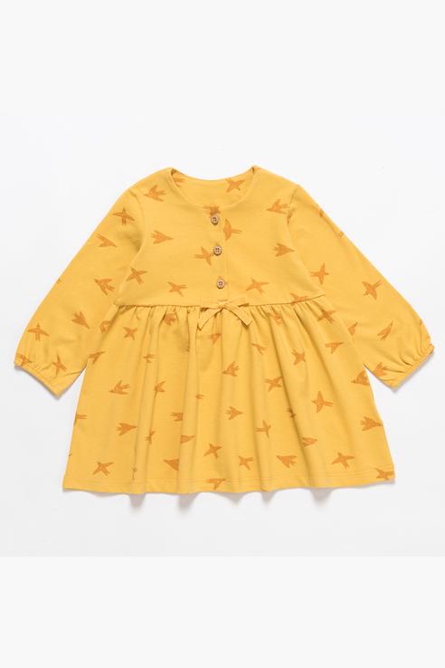 Платье для девочки Artie, цв.желтый, р