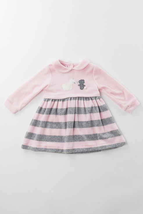 Купить 3.V752.00, Платье для девочки Sarabanda, цв.розовый, р-р 74,