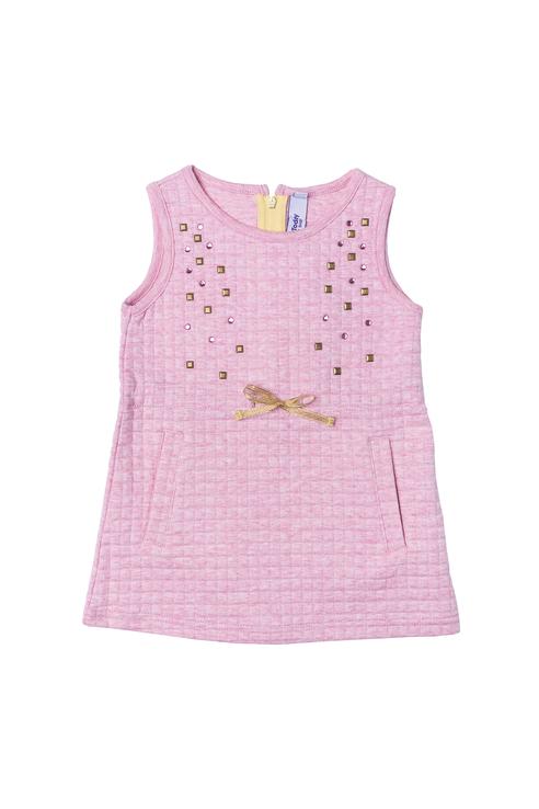 Купить 178014, Платье для девочки PlayToday, цв.розовый, р-р 86, Play Today,
