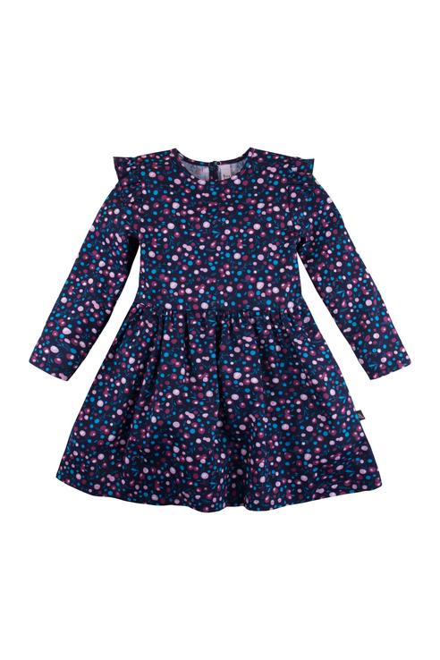 Платье для девочки Bossa Nova, цв.фиолетовый, р-р 80