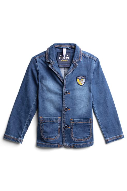 Купить 191115, Пиджак для мальчика PlayToday, цв.синий, р-р 152, Play Today,