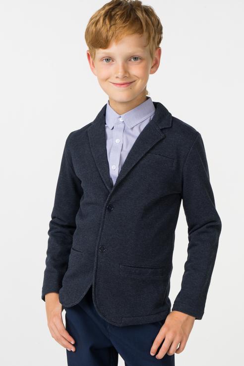 Купить 383436, Пиджак для мальчика PlayToday, цв.синий, р-р 152, Play Today,