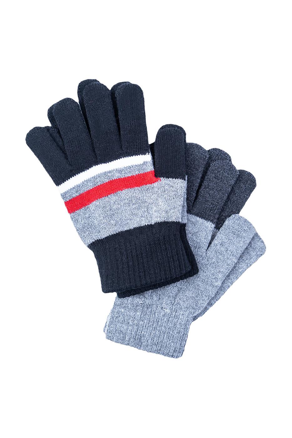 Перчатки детские PlayToday, цв.серый, р р 17