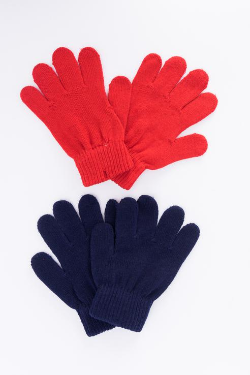 Перчатки детские PlayToday, цв.красный, р-р 18