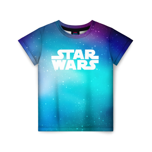 Купить 3D STAR WARS 1687045, Детская футболка ВсеМайки 3D STAR WARS, р. 128, VseMayki.ru,