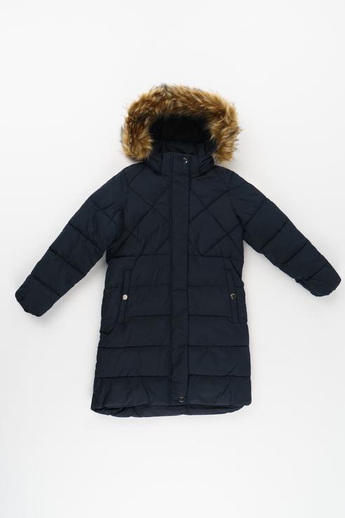 Пальто для девочки Luhta, цв.синий, р