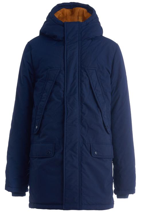 Пальто для мальчика Button Blue, цв.синий,