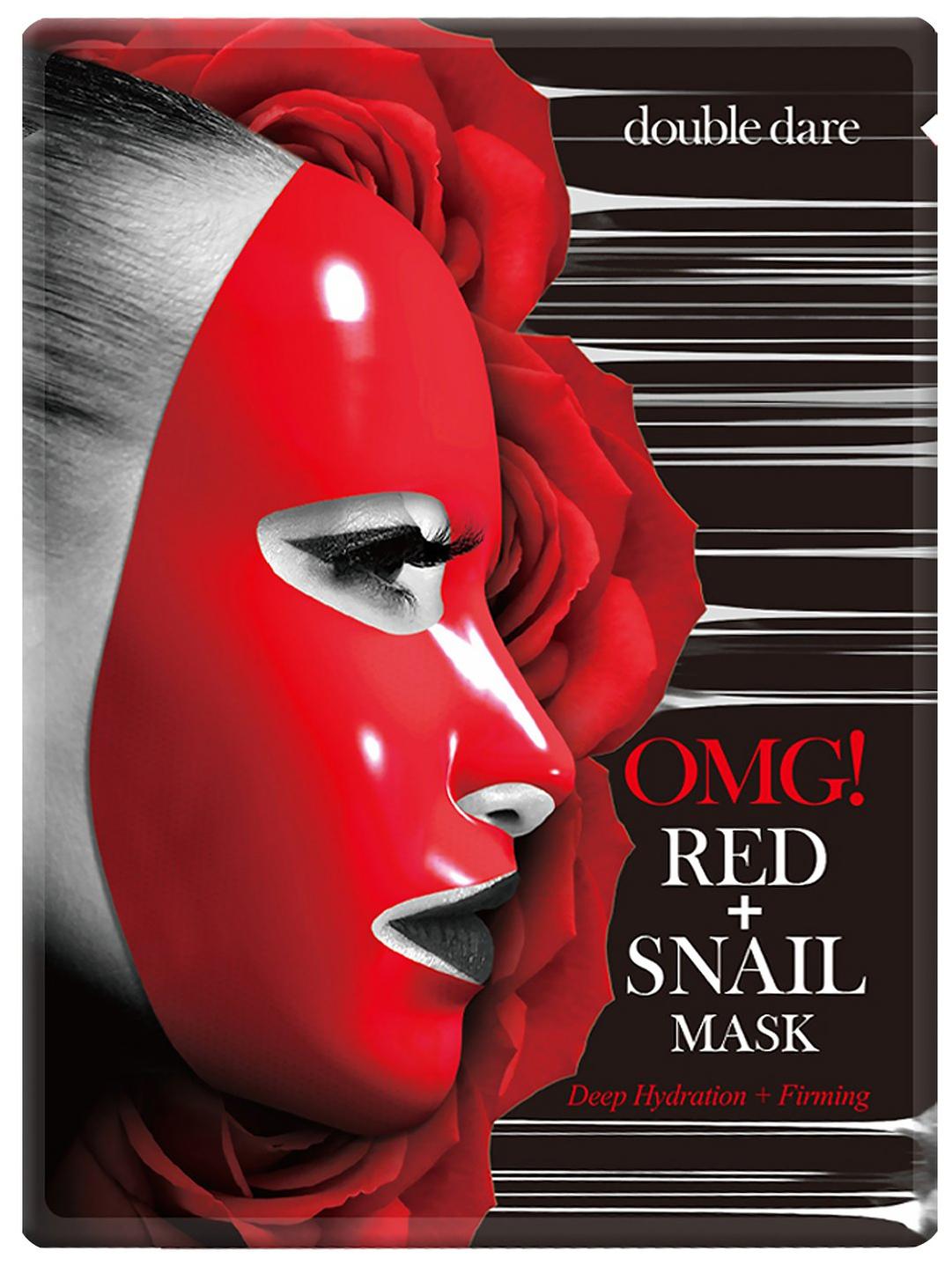 Купить Маска для лица Double Dare OMG! Red + Snail Mask