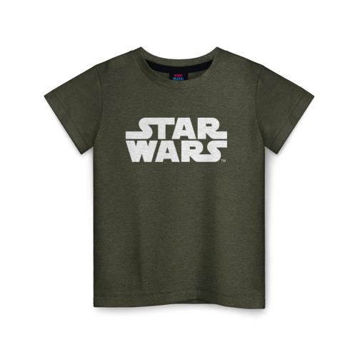 Купить Хлопок Star Wars 1689603, Детская футболка ВсеМайки Star Wars хлопок, р. 128, VseMayki.ru,