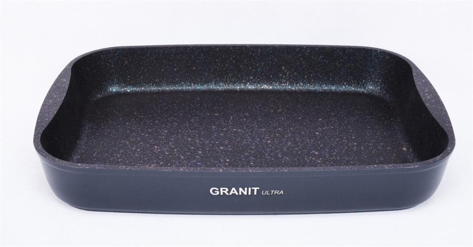 Противень апр литой 40х29,5х5см Granit ultra blue