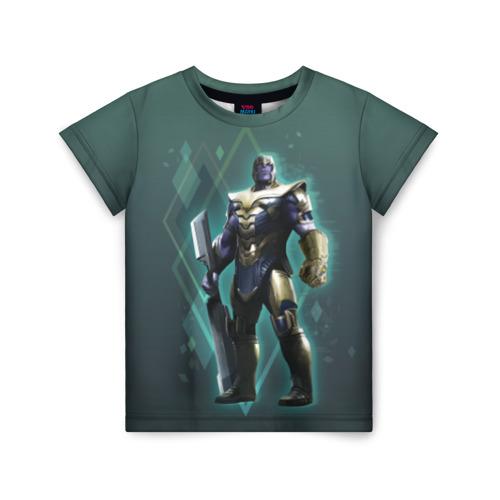 Детская футболка ВсеМайки 3D Thanos, р. 146 VseMayki.ru 3D Thanos 1765877