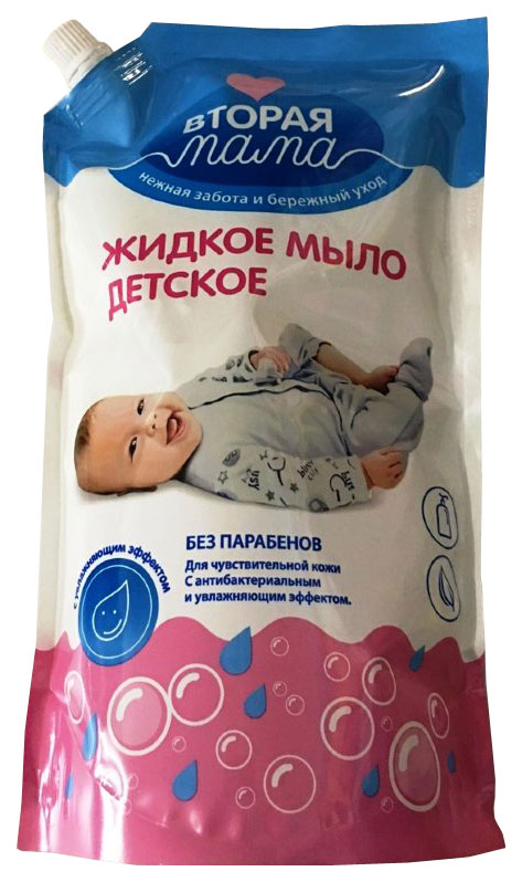 Жидкое мыло Вестар Вторая Мама детское,