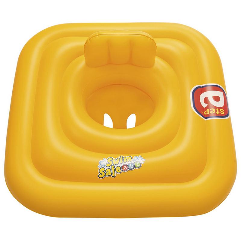 Круг надувной Bestway Swim Safe c сиденьем