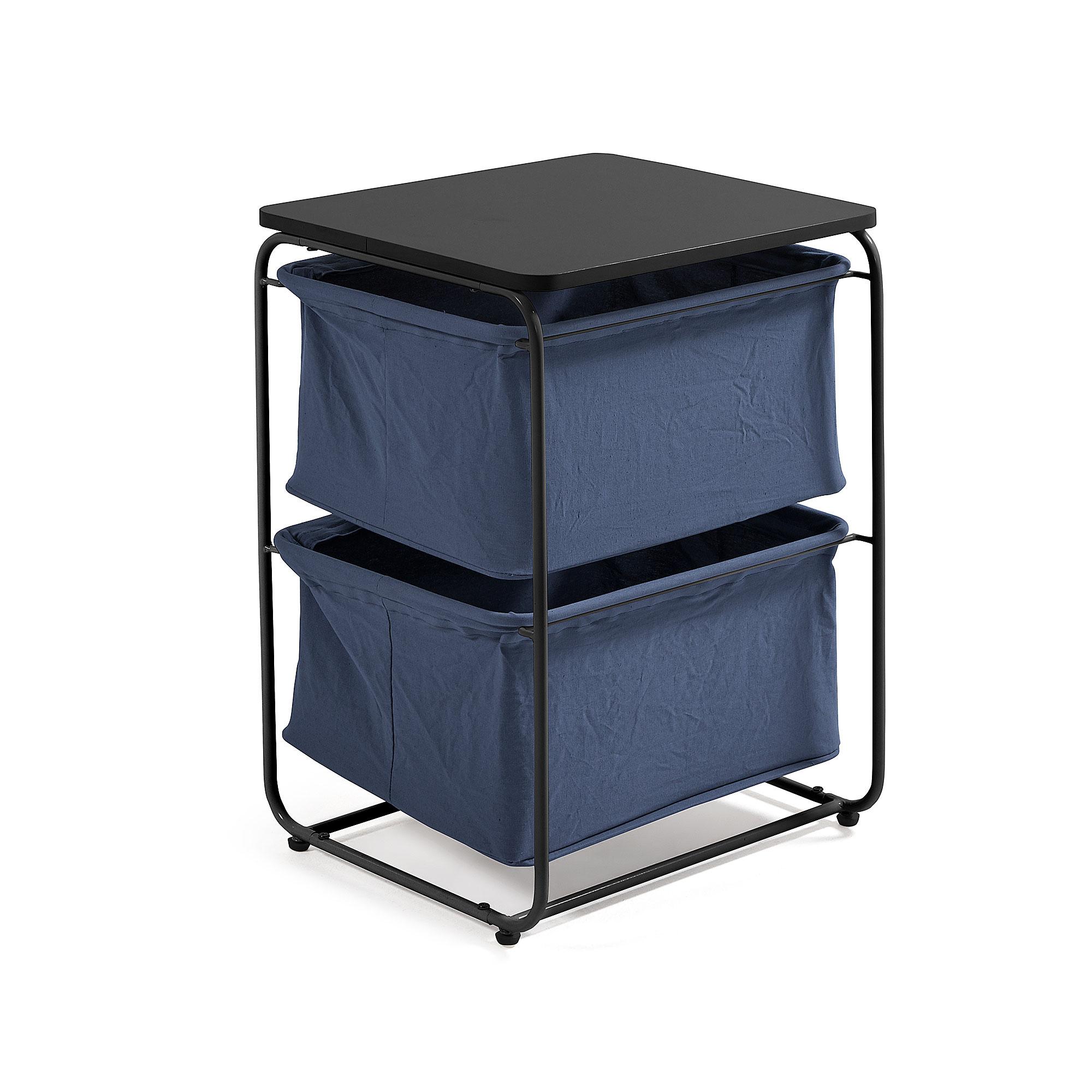 Столик Specter 45x62 металл черный