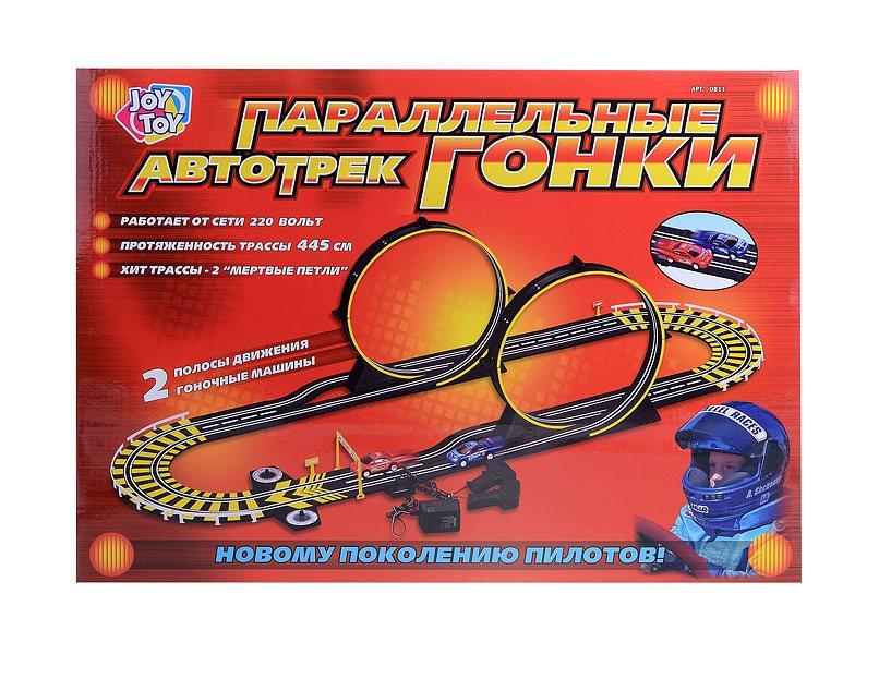 Купить Автомобильный трек Play Smart Параллельные гонки, PLAYSMART, Детские автотреки