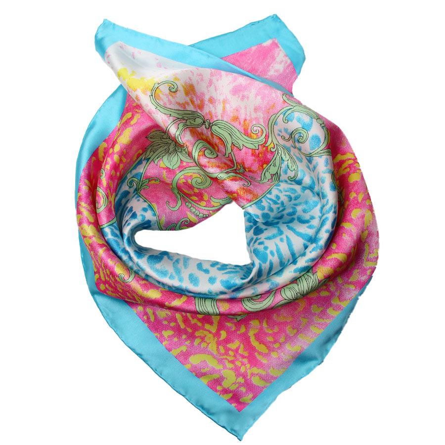 Шейный платок Venera 5603429-6 голубой
