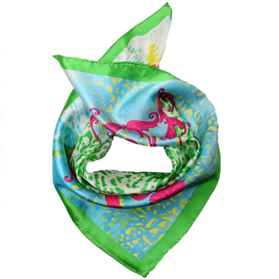 Шейный платок Venera 5603429-7 зеленый