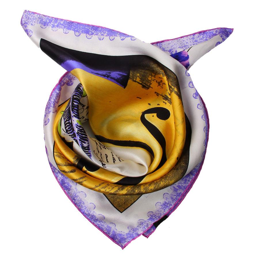 Шейный платок Venera 5603629-3 фиолетовый