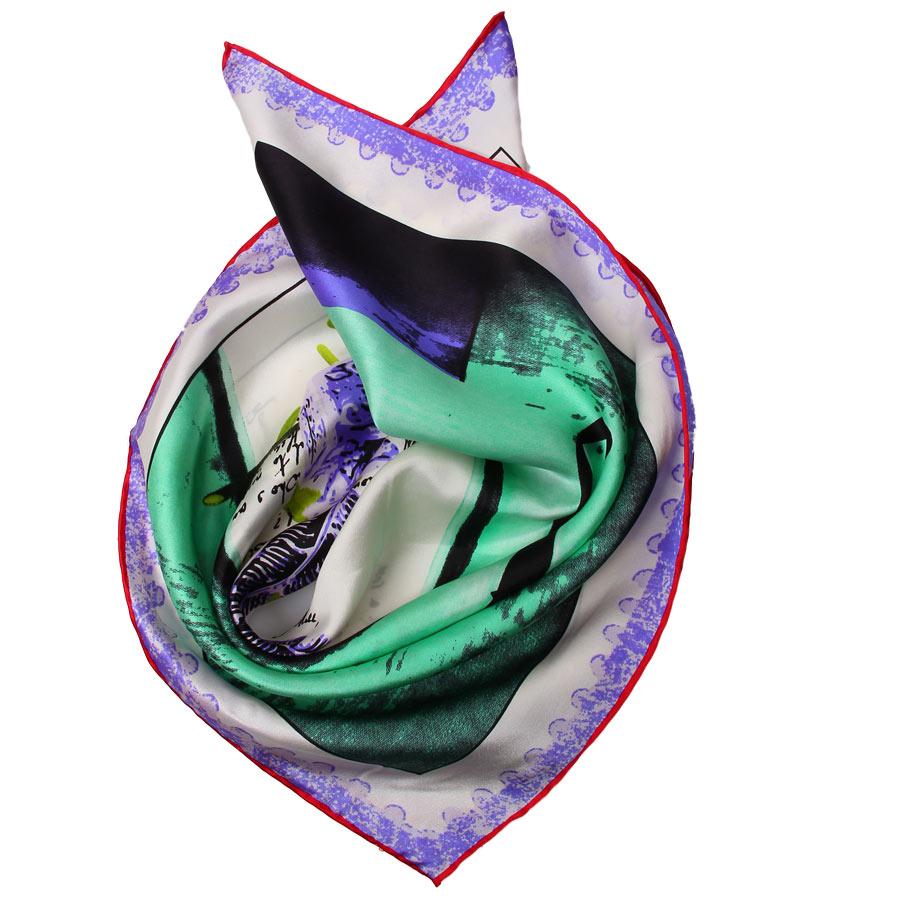 Шейный платок Venera 5603629-5 фиолетовый