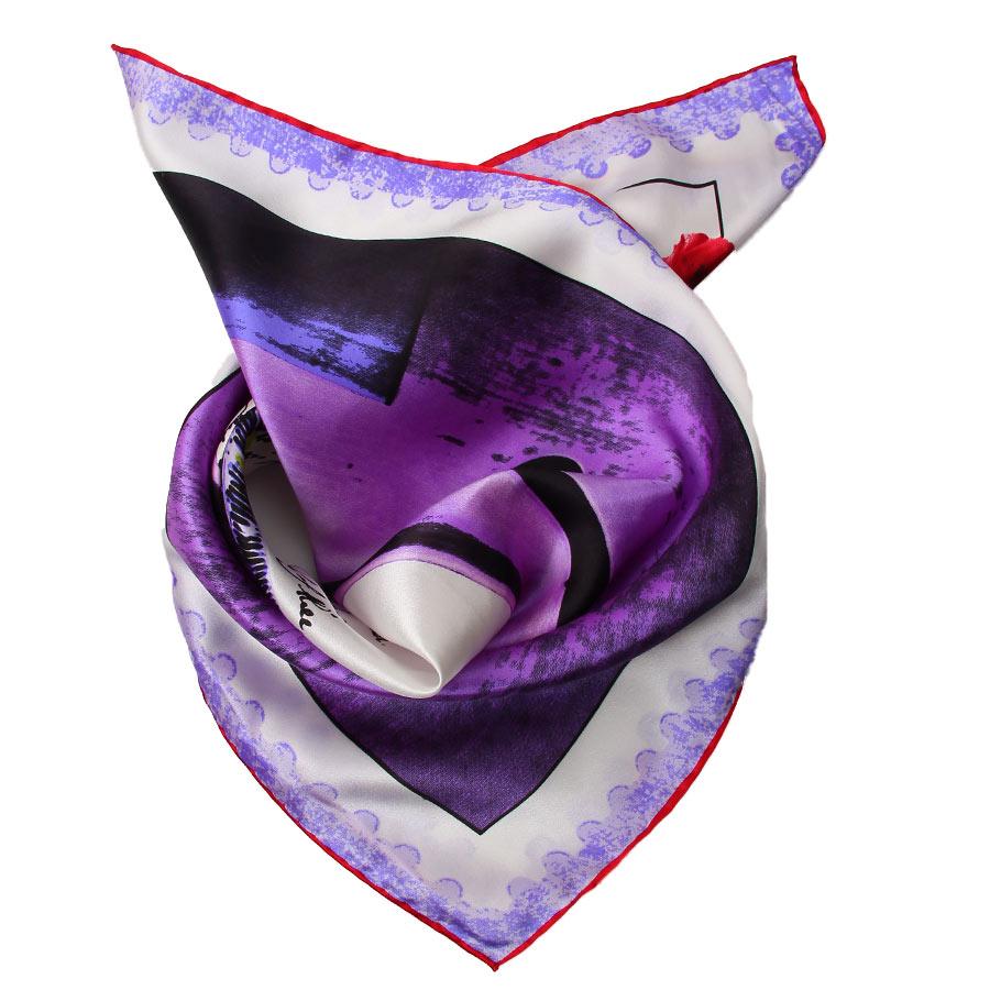 Шейный платок Venera 5603629-6 фиолетовый