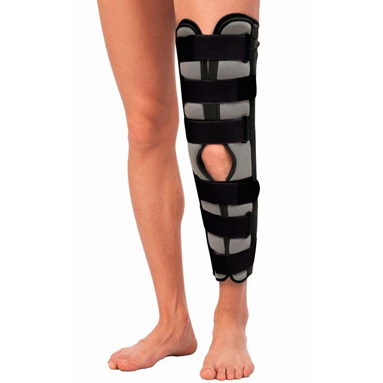 Бандаж для полной фиксации коленного сустава 60см