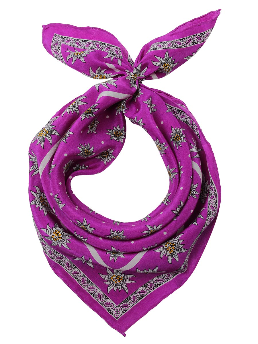 Шейный платок Venera 5601741-09 фиолетовый