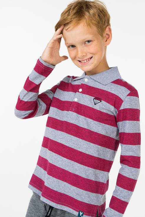 Купить 381167, Лонгслив для мальчика PlayToday, цв.красный, р-р 116, Play Today,