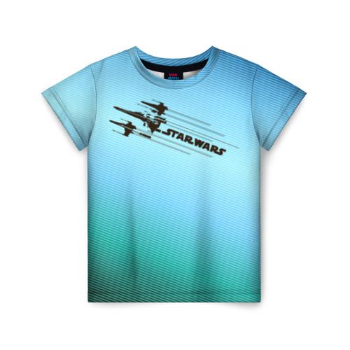 Купить 3D STAR WARS 1688979, Детская футболка ВсеМайки 3D STAR WARS, р. 128, VseMayki.ru,