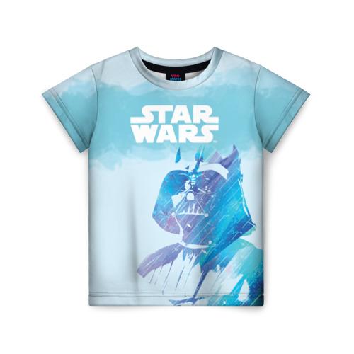 Купить 3D STAR WARS 1687089, Детская футболка ВсеМайки 3D STAR WARS, р. 128, VseMayki.ru,