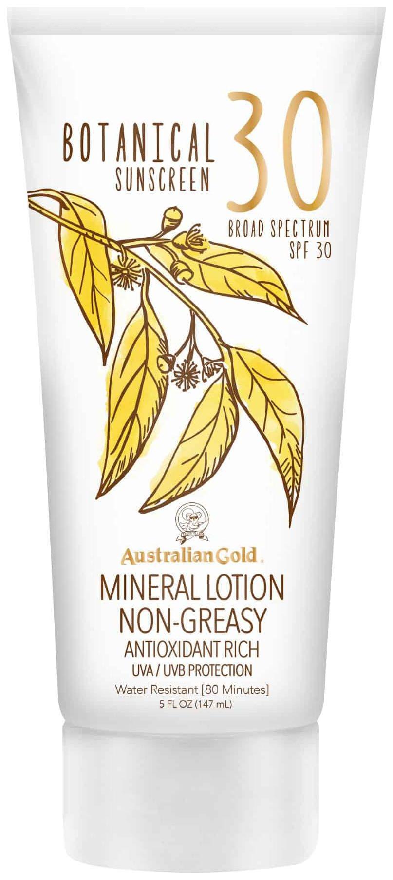 Солнцезащитный лосьон Australian Gold Botanical Sunscreen