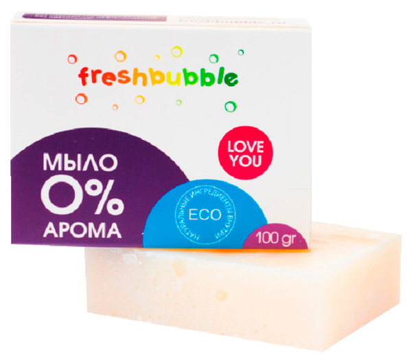 МылоFreshbubble  кусковое 100 г
