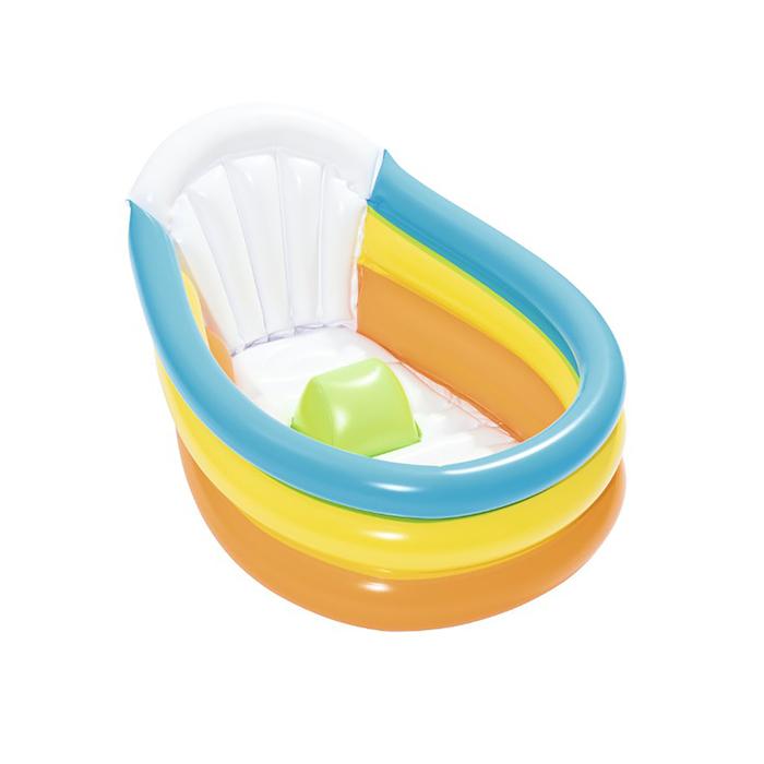 Ванночка надувная Bestway Радуга, 76*48*33 см,