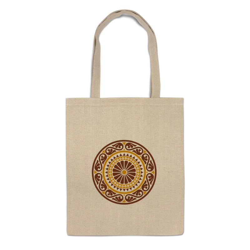Сумка-шоппер Printio Орнамента в виде розетки