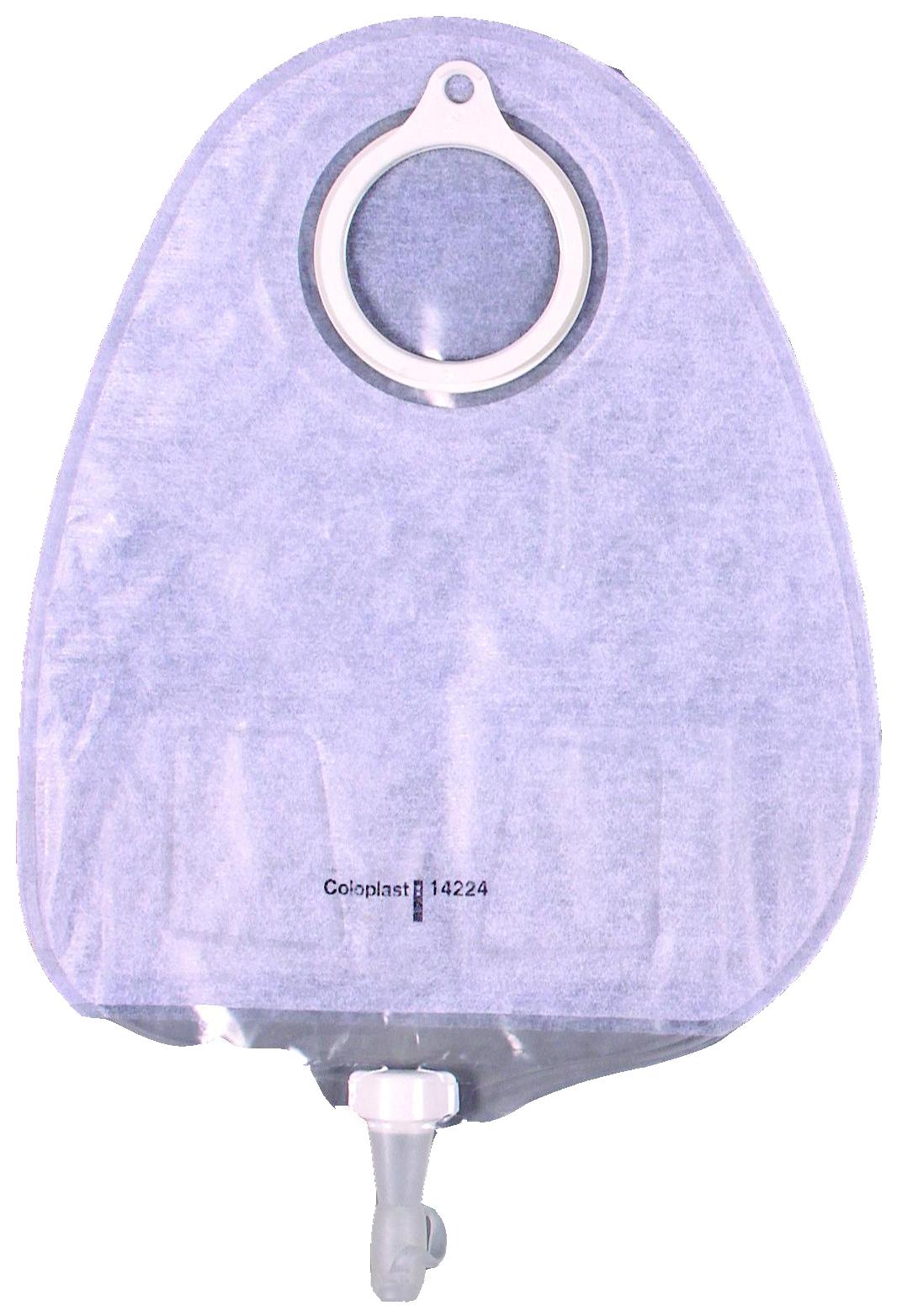 Дренируемый прозрачный уростомный мешок с мягким покрытием,