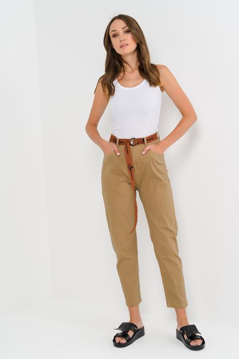Джинсы женские ELARDIS El_W30492 коричневые 27