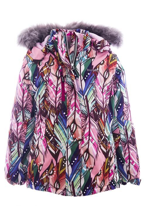 Куртка для девочки KUOMA, цв.бежевый, р