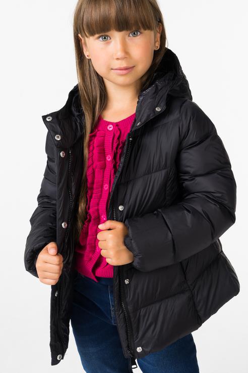 Купить 4.V981.00, Куртка для девочки iDO, цв.чeрный, р-р 122, Куртки для девочек